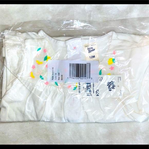 Osh Kosh embroidered onesie - brand new